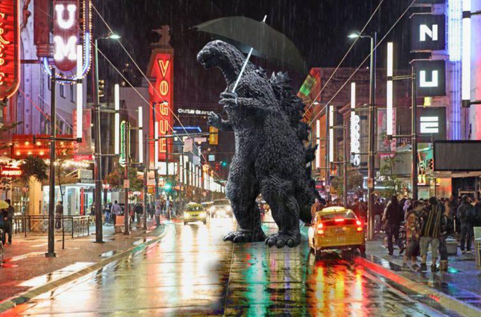 Godzilla in Vancouver
