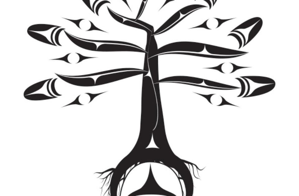 Coast Salish tree design